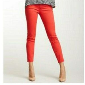Lucky Sweet n' Crop Coral Jeans